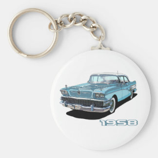 58 Century Basic Round Button Key Ring