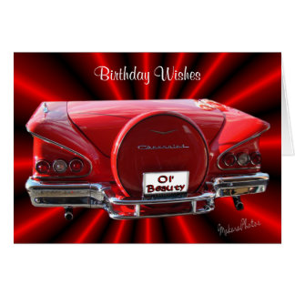 58 Classic-any occasion-customize Card