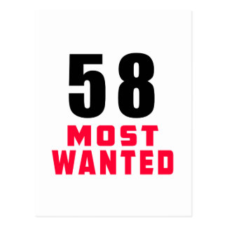 58 Most Wanted Funny Birthday Design Postcard