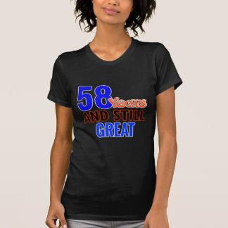 58th birthday design T-Shirt