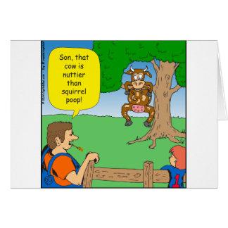 597 nuttier than squirrel poop cartoon card