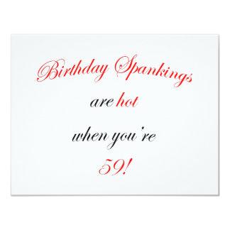 59 Birthday Spanking Card