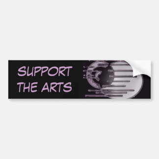 5.11b, support the arts bumper sticker