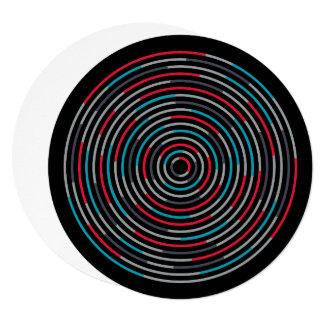 5.25 x 5.25 Invitation Circle - #Hypnotize