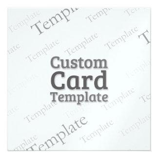 5.25 x 5.25 Metallic Ice Invitation Template