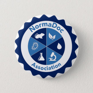 5.2 cm - NormaDoc association swipes in 6 Cm Round Badge
