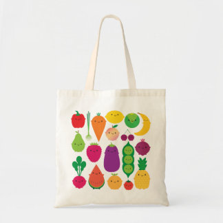 5 A Day Fruit & Vegetables Budget Tote Bag