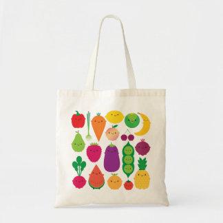 5 A Day Fruit & Vegetables Budget Tote Bag