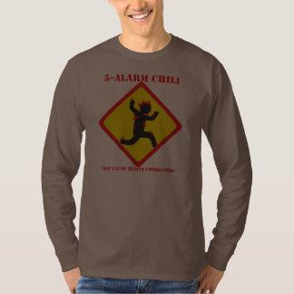5 Alarm Chili Men's Dark Long Sleeve Shirt