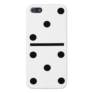 5 and 3 Domino Design case Case Savvy iPhone 5 iPhone 5/5S Case