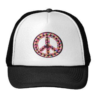 5-color peace hat