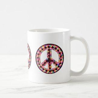 5-color peace mug