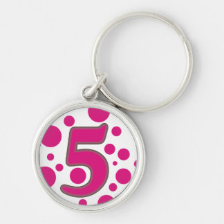5-Five Key Ring