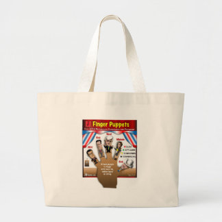 5 GOP Finger Puppets Tote Bags