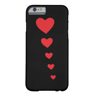 5 hearts barely there iPhone 6 case