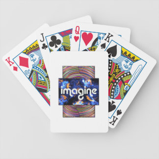 5 imagine bicycle playing cards