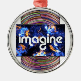 5 imagine metal ornament