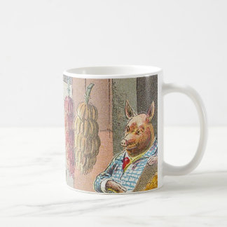 5 Little Pigs: At the Market Mugs