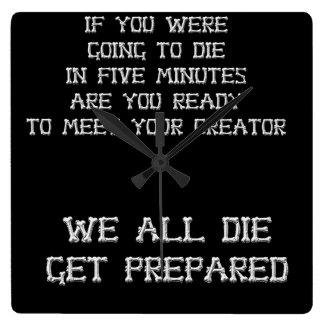 5 minutes til Death Clock