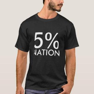 5%, NATION T-Shirt