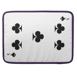 5 of Clubs Sleeve For MacBooks
