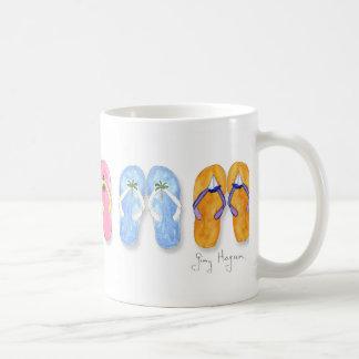 5 Pairs of Flip-Flops Mugs & Drinkware