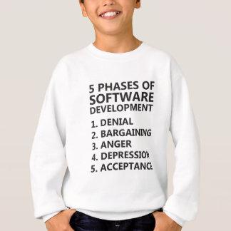 5 Phases Software Development Sweatshirt