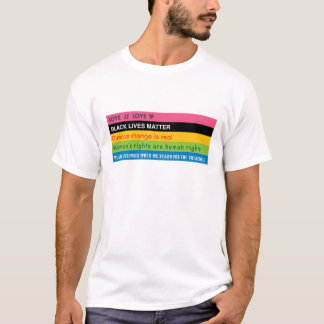 5 progressive slogan shirt