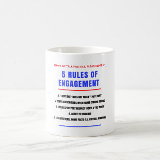 5 Rules of Engagement Mug