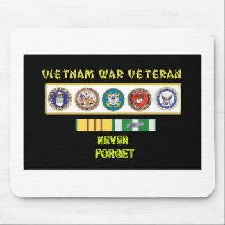 5 SERVICES VIETNAM WAR VET MOUSE PAD