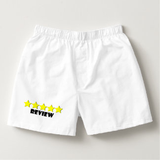 5 Star Review Boxers
