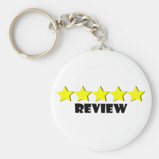 5 Star Review Key Chain
