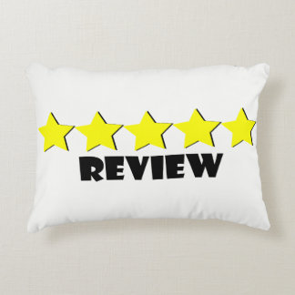 5 Star Review Pillow