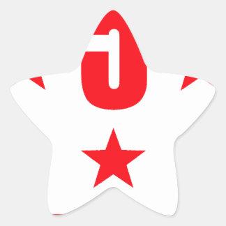 5 stars deluxe star sticker