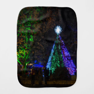 5 Story Sdc Tree Night Burp Cloth