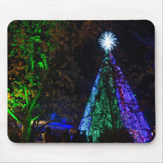5 Story Sdc Tree Night Mouse Pad