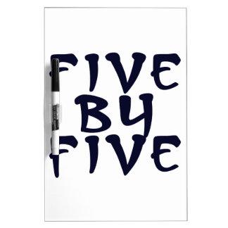 5 x 5 dry erase board