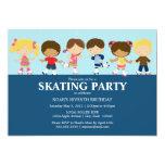5 x 7 Boy/Girl Skating | Birthday Party Invite