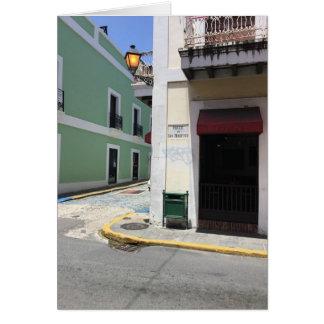 "5 X 7"" Downtown San Juan Puerto Rico Greeting Card"