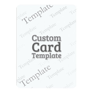 "5"" x 7"" Invitation Custom Template"