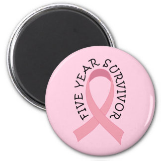 5 Year Breast Cancer Survivor Magnet