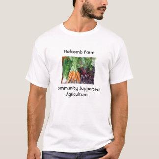 5acrefarmonionscarrotsbeets, Holcomb FarmCommun... T-Shirt