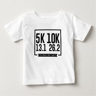 5K 10K 13.1 25.2 Runners Running Marathon Race Baby T-Shirt