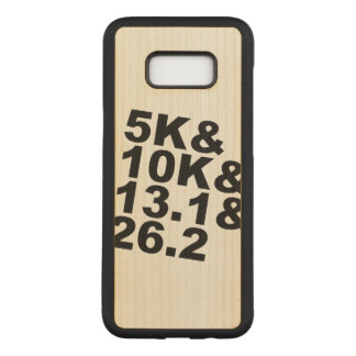5K&10K&13.1&26.2 (blk) Carved Samsung Galaxy S8+ Case