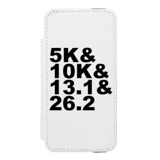 5K&10K&13.1&26.2 (blk) Incipio Watson™ iPhone 5 Wallet Case