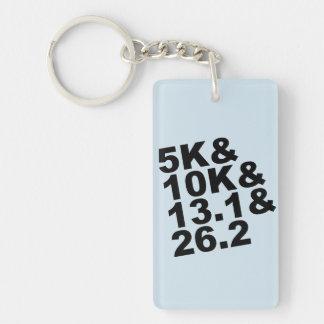 5K&10K&13.1&26.2 (blk) Key Ring