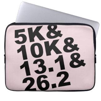 5K&10K&13.1&26.2 (blk) Laptop Sleeve