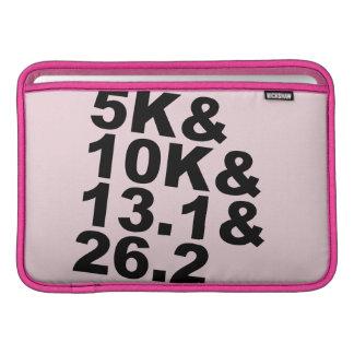 5K&10K&13.1&26.2 (blk) Sleeve For MacBook Air