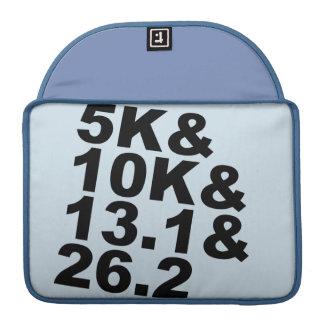 5K&10K&13.1&26.2 (blk) Sleeve For MacBooks