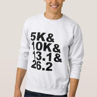 5K&10K&13.1&26.2 (blk) Sweatshirt